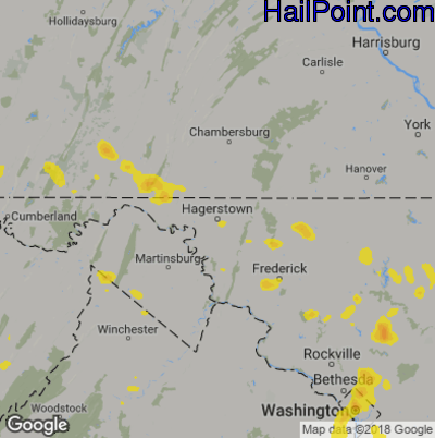 Hagerstown Md Zip Code Map.Hail Point Maps
