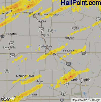 Hail Point - Maps on map of waterloo iowa mapquest, map of lawton ia, map of sioux city ia, map of wi mn ia,